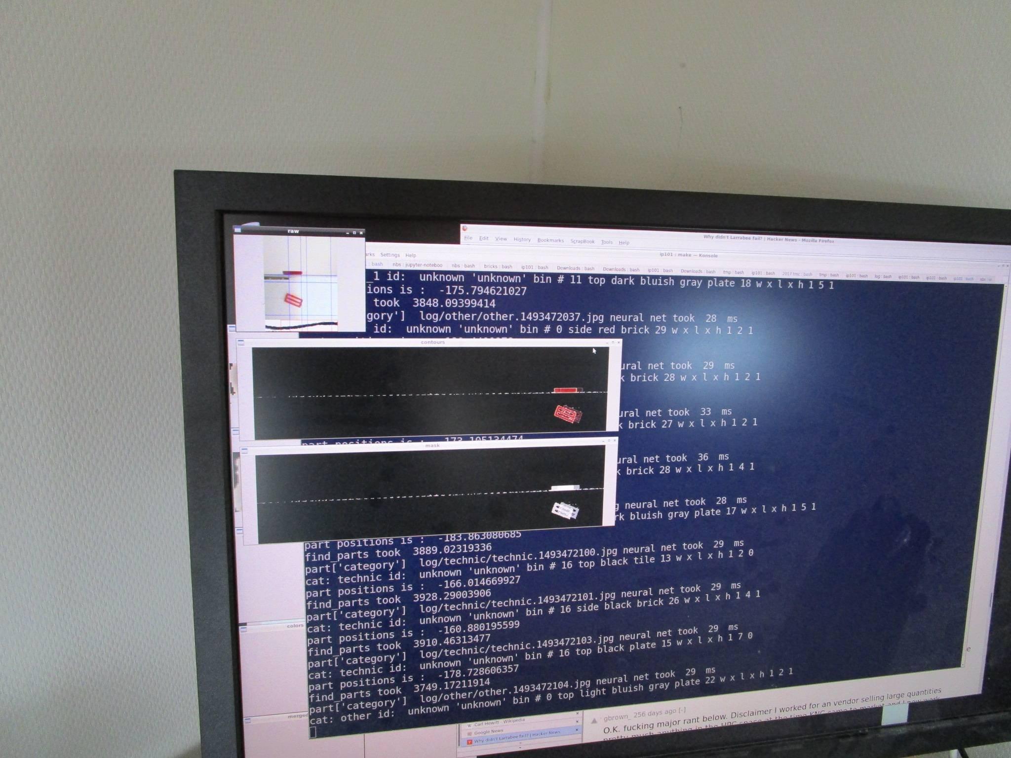 screenshot from machine learning