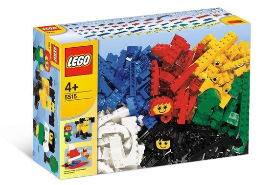 Box of Lego bricks