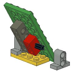Technic Tile 1x2 with 2 holes, 1x2 Brick with Axle Hole